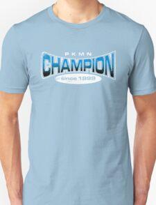 Pokemon Champion_Blue_DarkBG Unisex T-Shirt
