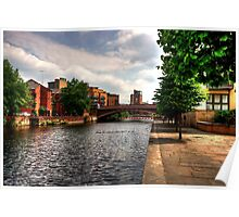 Canalside Walk Poster