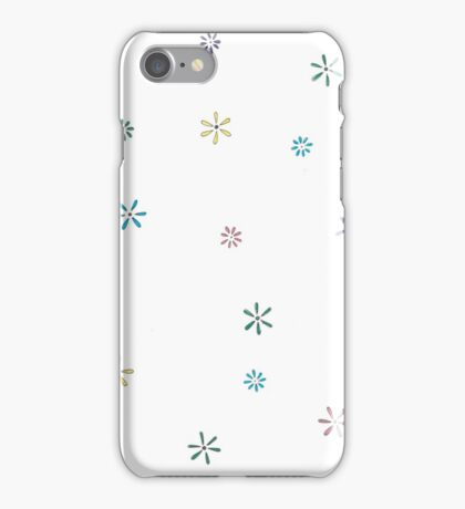 flowers - colour iPhone Case/Skin