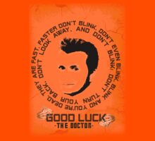 Doctor Who - Blink with Background Kids Clothes