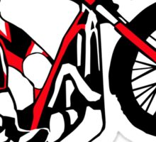 Trial Motorcycle Sticker