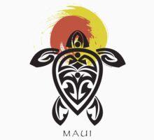 Tribal Turtle, Maui Sun by Susan R. Wacker