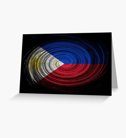 Philippines Twirl Greeting Card