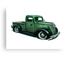 37 Chevy Canvas Print