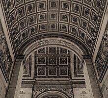 Arc de Triomphe by Nigel Fletcher-Jones