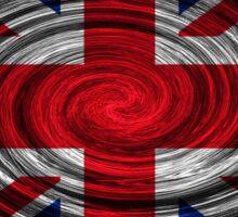 United Kingdom Twirl Sticker