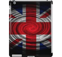 United Kingdom Twirl iPad Case/Skin