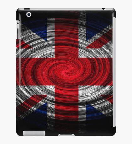 United Kingdom Twirl iPad Case/Skin