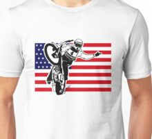USA Speedway Motorcycle Racing Unisex T-Shirt