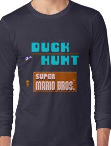 Duck Hunt & Super Mario Bros Long Sleeve T-Shirt