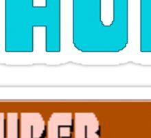 Duck Hunt & Super Mario Bros Sticker