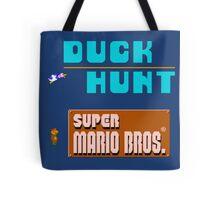 Duck Hunt & Super Mario Bros Tote Bag