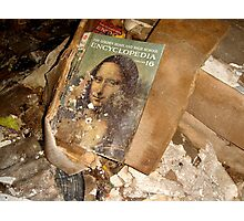 Disturbed Mona Lisa Photographic Print