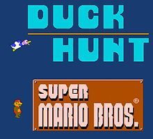 Duck Hunt & Super Mario Bros by Dekuscrub97