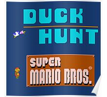 Duck Hunt & Super Mario Bros Poster