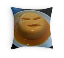Angry Pud Throw Pillow