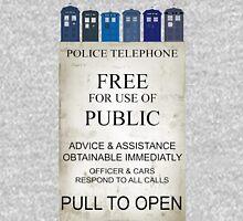 Doctor Who - Tardis evol Unisex T-Shirt