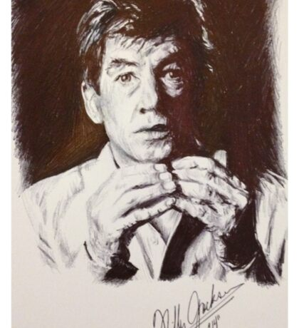 IAN MCKELLEN PORTRAIT Sticker