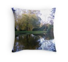 Mill Reflection Throw Pillow