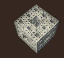 Sierpinski cube by Neil Messenger