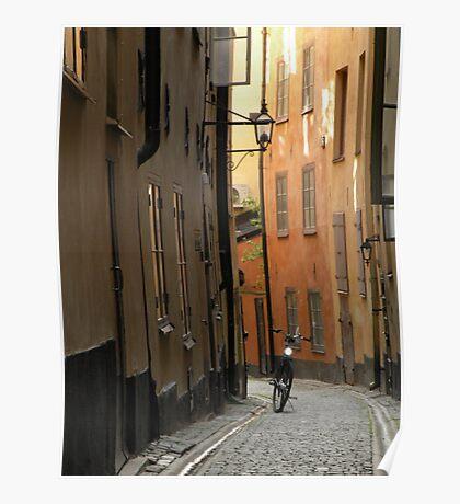Gamlestan - Old Town - Stockholm, Sweden Poster