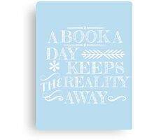 A book a day... Canvas Print