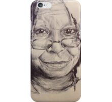 WHOOPI GOLDBERG PORTRAIT iPhone Case/Skin