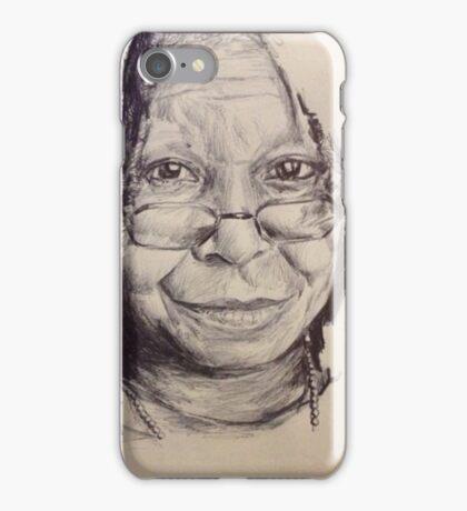 WHOOPI GOLDBERG PORTRAIT iPhone Case/Skin