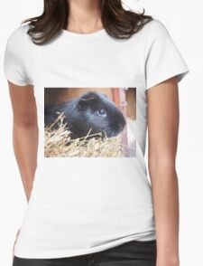 Photogenic Guinea Pig Womens Fitted T-Shirt