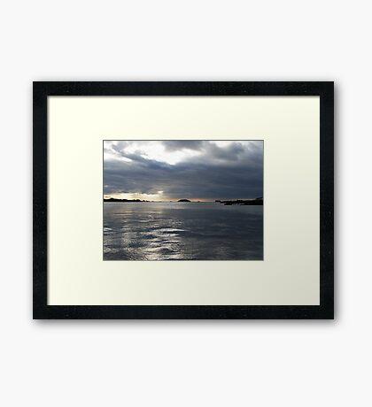 Galapagos View Framed Print