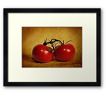 dos tomatoes Framed Print