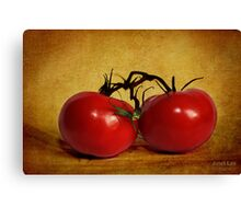 dos tomatoes Canvas Print