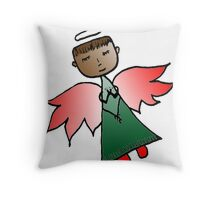 Holiday Angel Throw Pillow