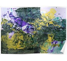 "Original Art Large Wall Art - ""Progress"" - Modern Abstract Expressionism Painting Poster"