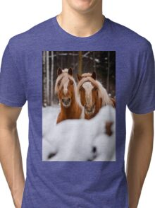 Two  Heads Are Better Than One Tri-blend T-Shirt