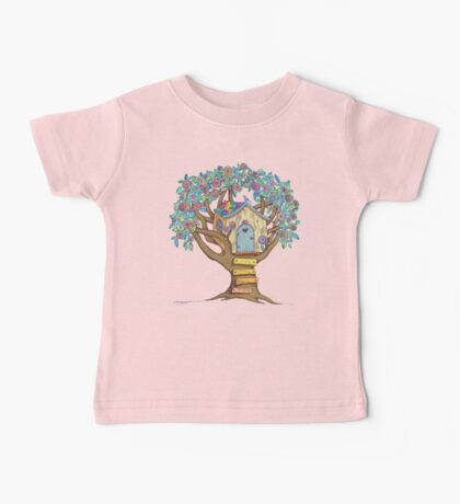 Live Simply, Love Trees Baby Tee