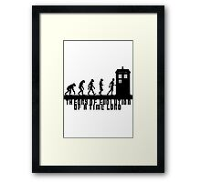 Doctor Who - Theory of Evolution - Black Framed Print