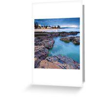 Northbeach Natural Pools Greeting Card