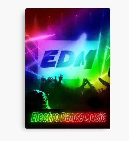 EDM Electro Dance Music  Canvas Print