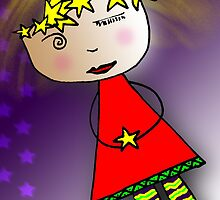 Holiday Star GRRRRL! by motherhenna