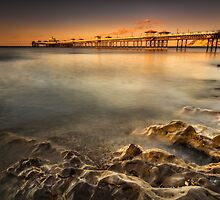 Sunset Pier by Adrian Evans