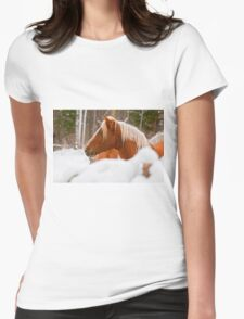 Equine Prince Womens Fitted T-Shirt