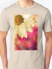Daisy - Golden on Pink Unisex T-Shirt
