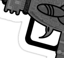 X-Raygun Sticker