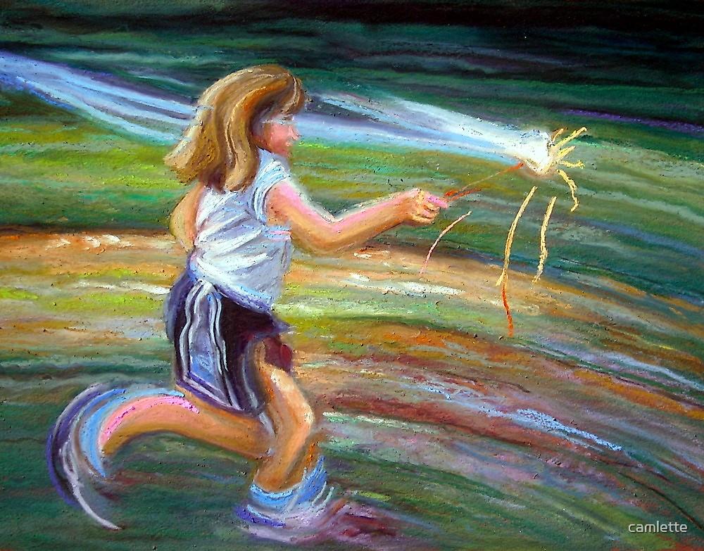 Magic Wand by Cameron Hampton