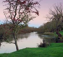 Tranquility at Longford, Tasmania by imaginethis
