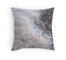 Oil Spill Throw Pillow