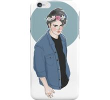 Flower croan michael  iPhone Case/Skin