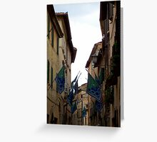 Montepulciano Salute Greeting Card
