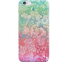 Soft Pastel Rainbow Doodle iPhone Case/Skin